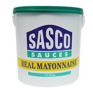 Sasco Real Mayonnaise (Bucket)-1x10L
