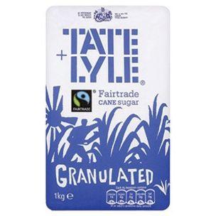 Tate & Lyle Fairtrade Granulated Sugar-15x1kg