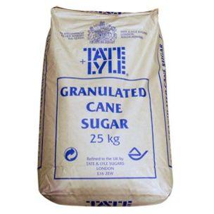 Tate & Lyle Granulated Sugar-1x25kg