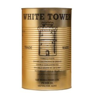 White Tower Double Concentrated Tomato Paste-1x4.55kg