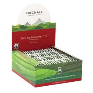 Birchall Premium English Breakfast Tagged Tea Bags-1x100
