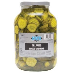 Conserven Dillchips Sliced Gherkins-1x2.65kg