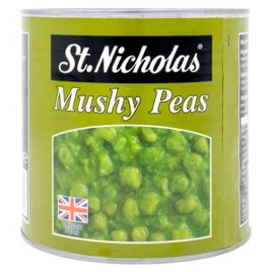 St.Nicholas Mushy Peas (Tin)-1x2.61kg