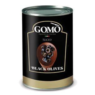 Gomo Sliced Black Olives-1x4.15kg