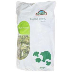 Greens Frozen Broccoli (Bags)-1x2.5kg