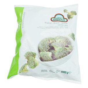 Greens Frozen Broccoli Florets (Bags)-1x1kg