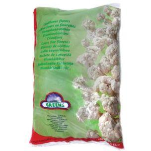 Greens Frozen Cauliflower Florets (Bags)-1x2.5kg