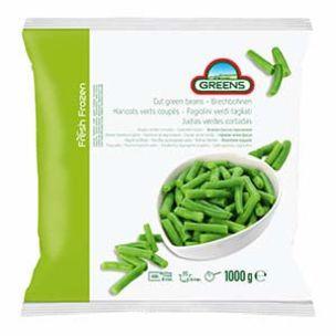 Greens Frozen Cut Green Beans (Bags)-1x1kg