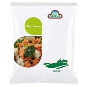 Greens Frozen Farmhouse Mix Vegetables (Bags)-1x1kg