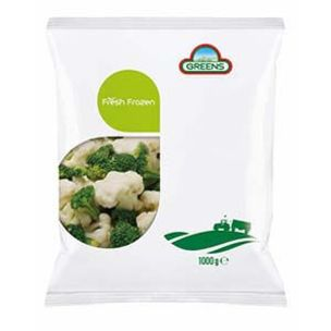 Greens Frozen Floret Mix (Cauliflower & Broccoli)-(Bags)-1x1kg