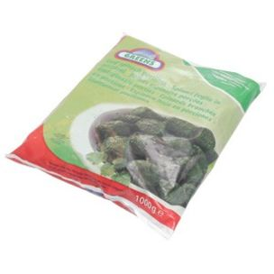 Greens Frozen Leaf Spinach (Bags)-1x1kg