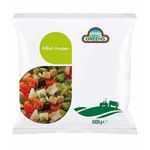 Greens Frozen Ratatoullie Mix (Bags)-1x1kg