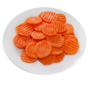 Greens Frozen Sliced Carrot (Fluted) (Bags)-1x2.5kg
