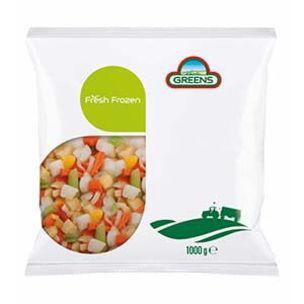Greens Frozen Stew Pack (Bags)-1x1kg