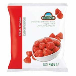 Greens Frozen Strawberries-1x450g