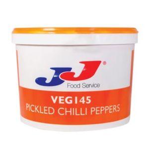 JJ/Fineats Pickled Chilli Peppers (Tursu in Bucket)-1x12.5kg
