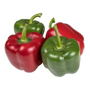 Red & Green Mixed Peppers-(70-90mm)-1x5kg
