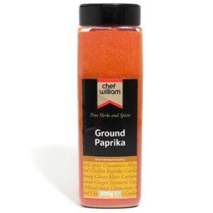 Chef William Ground Paprika-1x500g