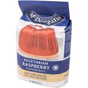 McDougalls Vegetarian Jelly Raspberry-1x3.5kg