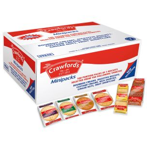 Crawford's Minipacks Assorted Biscuits (3 Biscuits per Pack 6 Varieties)-1x100