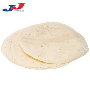 "JJ 12"" Flour Tortilla Wraps-6x12"