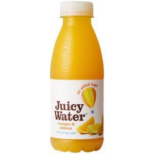 Juicy Water Oranges & Lemons-12x420ml