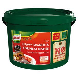Knorr Meat Gravy Granules(25L Yield)-1x1.88kg