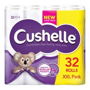 Cushelle Soft Toilet Tissue Rolls-1x32
