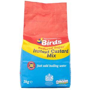 Birds Reduced-Sugar Custard Mix-1x3kg