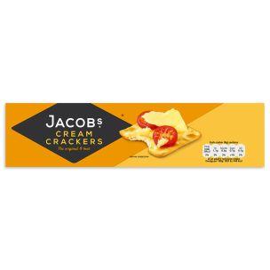 Jacob's Biscuits Cream Crackers-24x300g