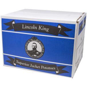Lincoln King Fresh Jacket Potatoes (Approx 50)-1x15kg