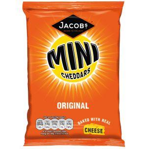 Jacob's Baked Mini Cheddars Original-30x50g