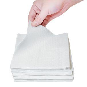 Wipe-Up Soft Serviettes (1Ply & 30cm) 10x500