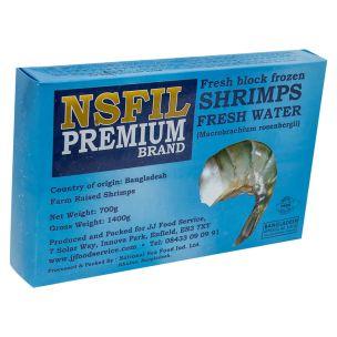 NSFIL Premium Raw Headless Shell on King Prawns (U5, 700g net)-6x1.4kg