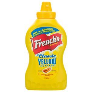 French's Classic Yellow Mustard-8x226g