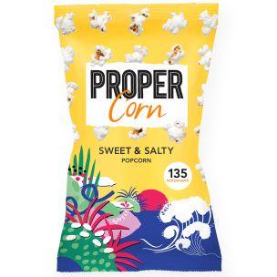 Propercorn Sweet and Salty Popcorn-24x30g