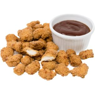Premiumeat Halal Whole Muscle Southern Fried Poppin Chicken-1x1kg