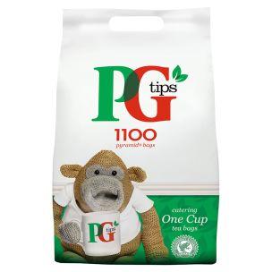 PG Tips Pyramid Tea Bags (Single)-1x1100