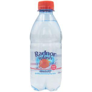 Radnor Splash Strawberry Sparkling Water-24x330ml