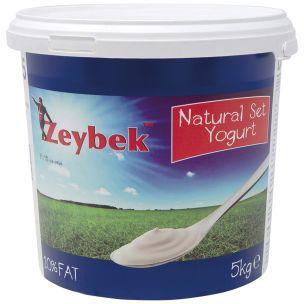 Zeybek Natural Set Yoghurt (10% Fat)-1x5kg