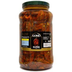 Gomo Sun-Dried Tomatoes in Oil (Glass)-1x3.1kg