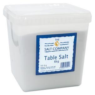 Table Salt In Tub 2x6kg