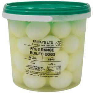 Fridays Hard Boiled Eggs-1x48