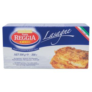 Pre-Cooked Plain Reggia Lasagne-12x500g