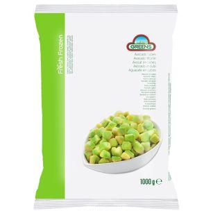 Greens Frozen Avocado (Bags)-1x1kg