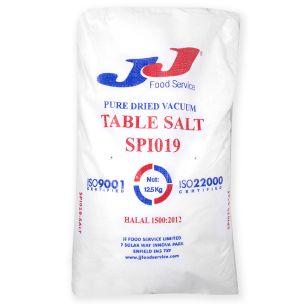 JJ PDV Table Salt 1x12.5kg