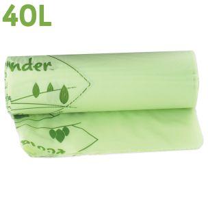 40L Compostable Food Waste Liner-(170x675x690mm)-1x25
