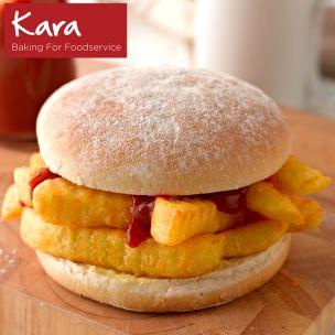 "Kara 5"" Sandwich Floured Baps-1x48"