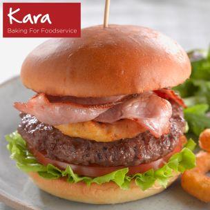 "Kara 4.5"" Gourmet Brioche Buns-1x54"