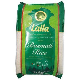 Laila Basmati Rice-1x20kg
